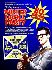 BUDDY HOLLY'S WINTER DANCE PARTY comes to STOCKPORT on Thursday 8th September 2016!